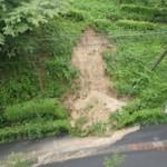 Landslide in OUS