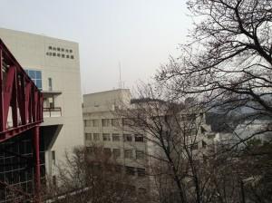 Okayama Univ. of Sci. / Mar. /2013. Photo by Dr. Shinji MIYAMOTO