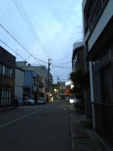 砺波駅前の・・