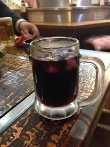 Wine or Red Beer?. Jan. / 2014. Photo by Dr. Shinji MIYAMOTO